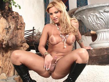 Shemale porn with shemale pornstar Carla Renata.